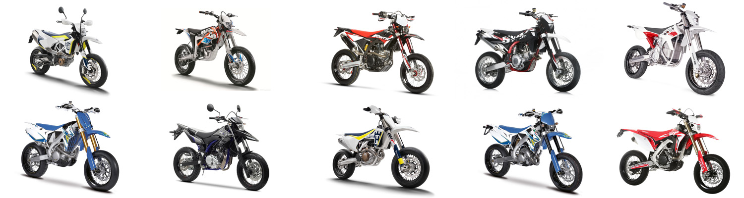 2017 Supermoto model overview
